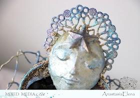 @nastyalena #alteredart #scrapbooking #angel