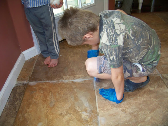 The Ferrell Boys and Me . . .: Makeover Monday - Grout ...