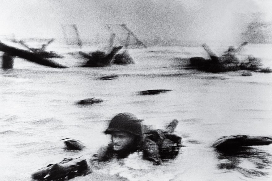 #29 D-Day, Robert Capa, 1944 - Top 100 Of The Most Influential Photos Of All Time