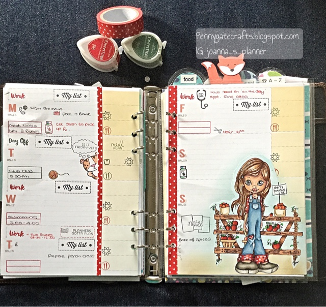 tomato-farmer-decorated-planner-pages