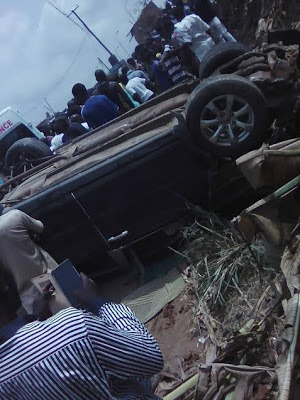 Photos: Pregnant Woman Dies In Fatal Accident At Obadore2