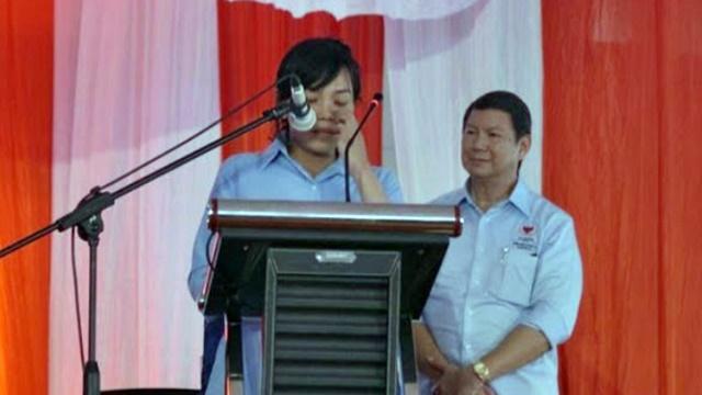 Penuh Tangis Haru, Cucu Jenderal Soedirman Berikrar Dukung Prabowo
