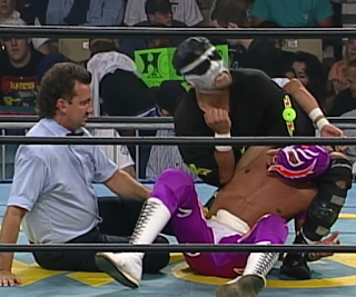 WCW FALL BRAWL 1996 REVIEW: Super Calo challenged Rey Mysterio for the WCW Cruiserweight title