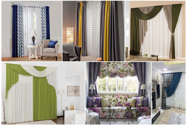 Stylish Multi-layer & Color Curtains