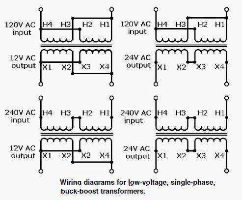 three phase buck boost wiring  schematic wiring diagram