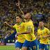Brasil vence o Peru por 3 a 1 e conquista a Copa América