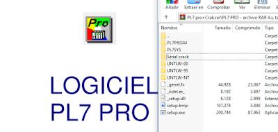 LOGICIEL  PL7 PRO +CRACK