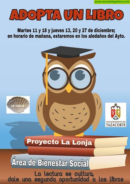 """""""Adopta un libro"""" en Tazacorte"""