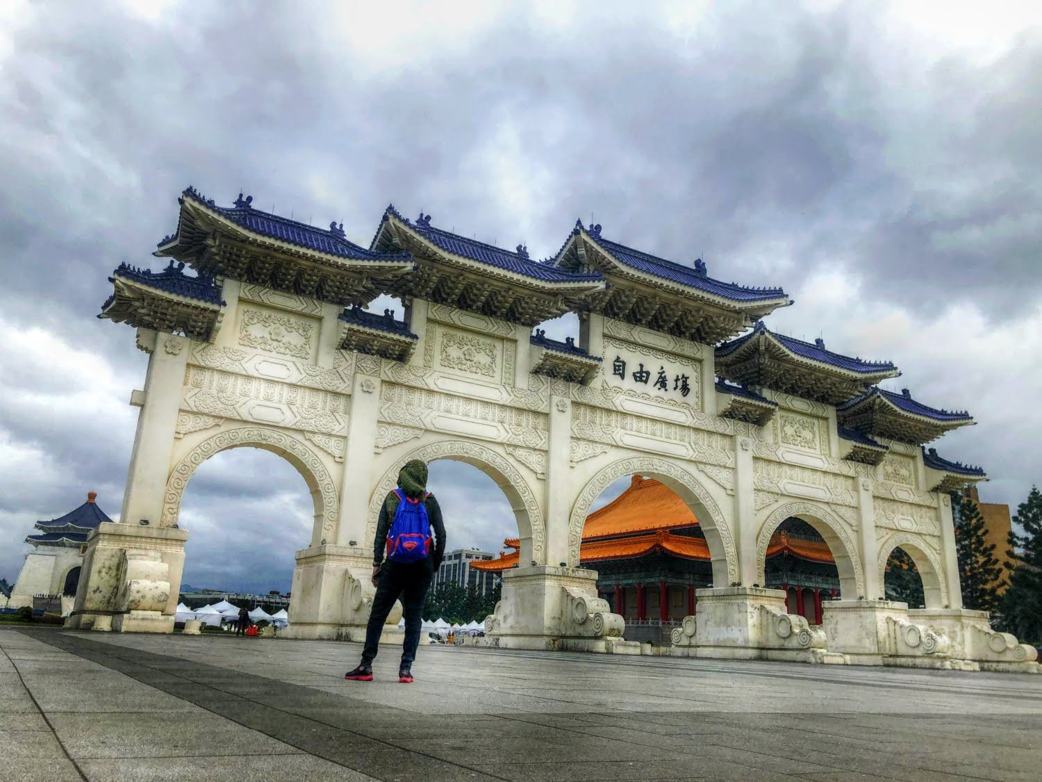 National Chiang Kai-Shek Memorial Hall, Taipei, Taiwan (November 2019)