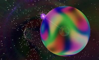 El gas quàntic revela els primers signes de doblegament dels monopols