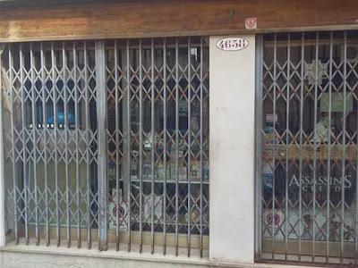 Il negozio di videogiochi Virtualia