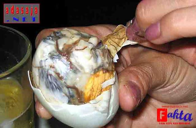 balut makanan dari kamboja yang menjijikan