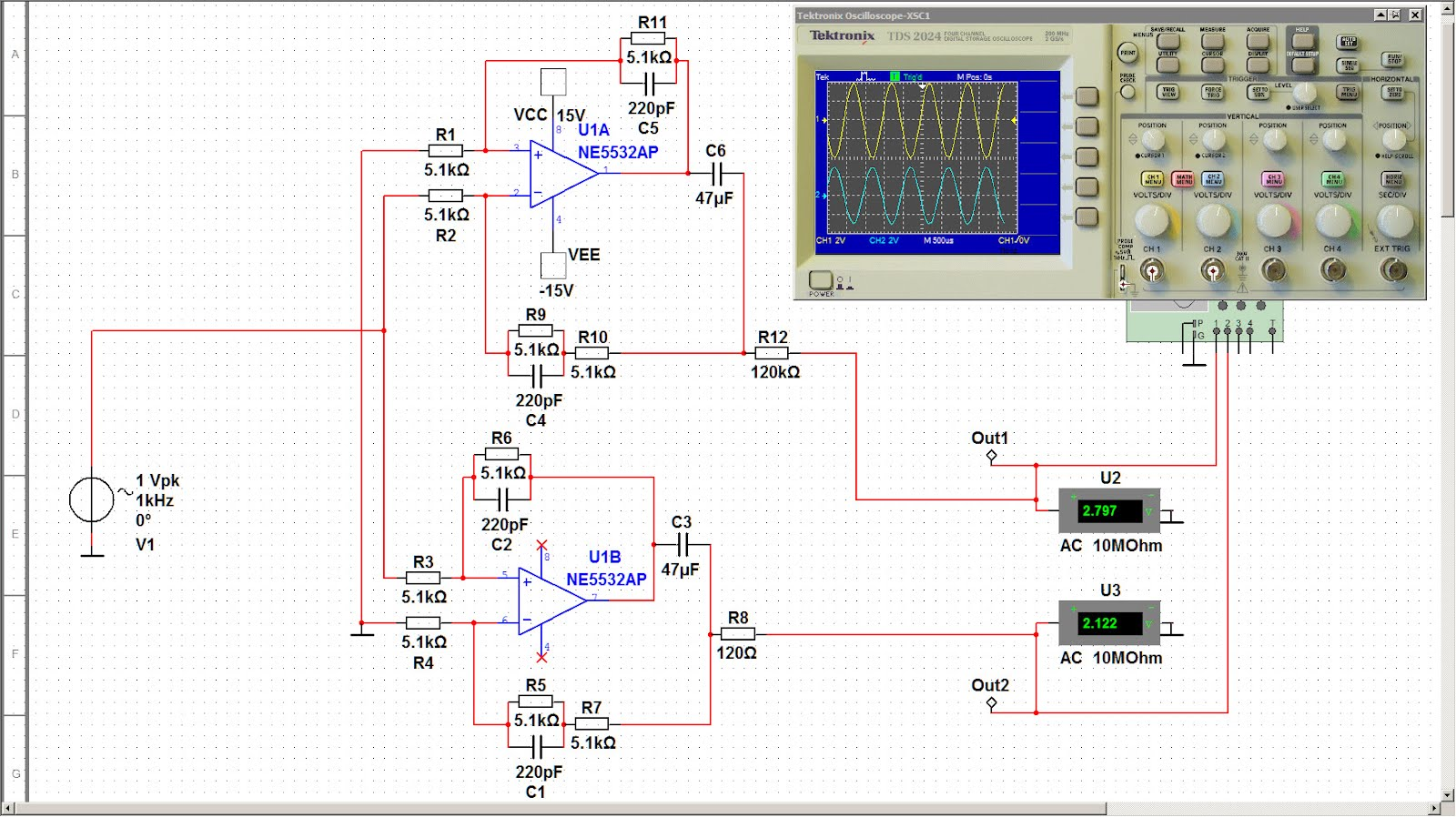 Custom Pcb For Diy Electronics More Unbalanced To Balanced Converters Block Diagram Inverting Amplifier The Reason Is That Operation Amplifiers Not Same With Inverted And Non Mode But Schematic Symmetrical Outputs