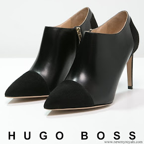 Crown Princess Mary wore HUGO BOSS Ellen Ankle Boots