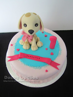 cake width a dog
