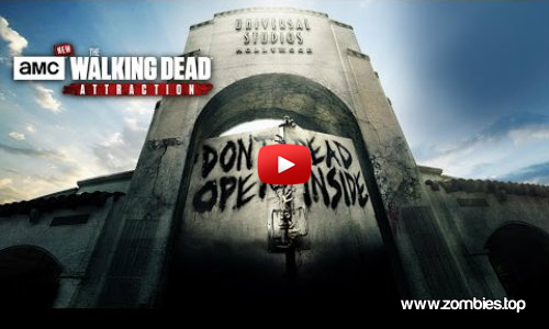 The Walking Dead en los Universal Studios
