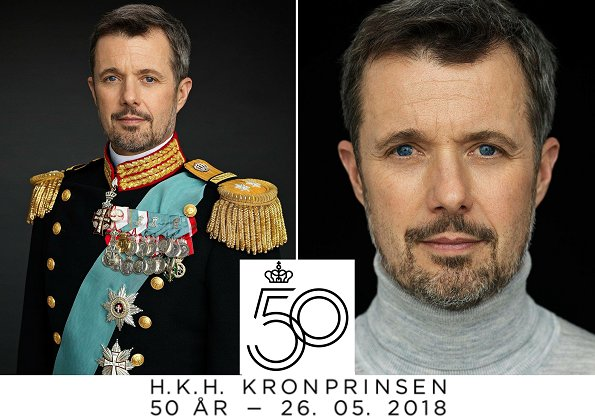 In the evening, a gala dinner will be given at Christiansborg Palace on the occasion of 50th birthday of Crown Prince Frederik. Crown Princess Mary