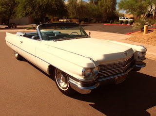 1963 Cadillac DeVille Convertible Front Right