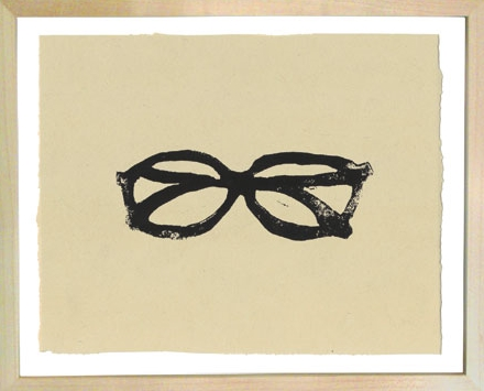 Hugo Guinness Linocuts Eyeglasses