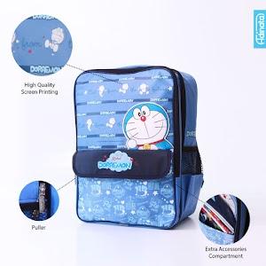 Doraemon Bell Dbl Rucksack L - Tas sekolah ransel anak
