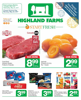 Highland Farms Flyer May 18 to 24, 2017