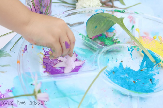 Nature Process Art for Kids