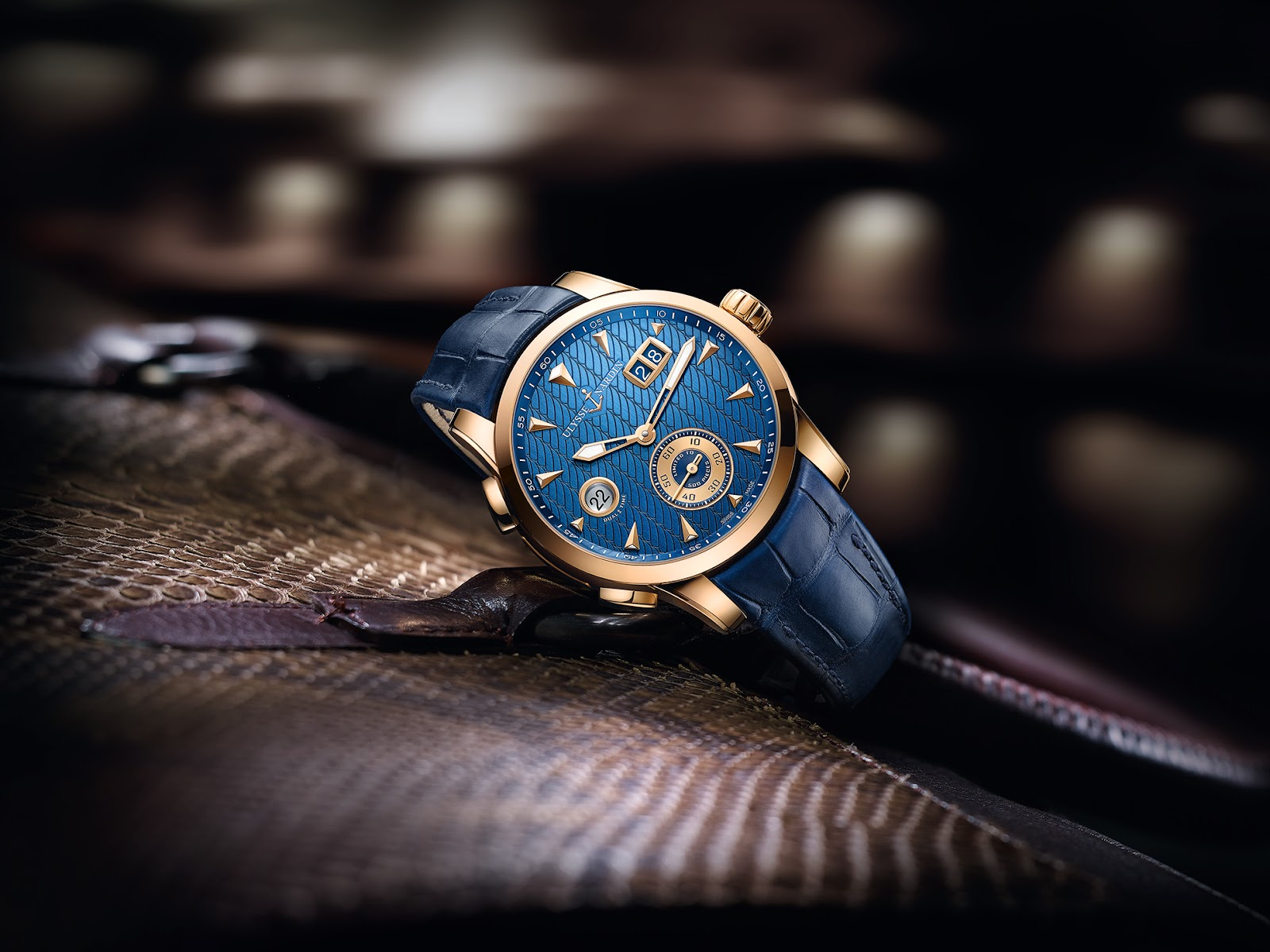 Ullysse Nardin Dual Time Manufacture