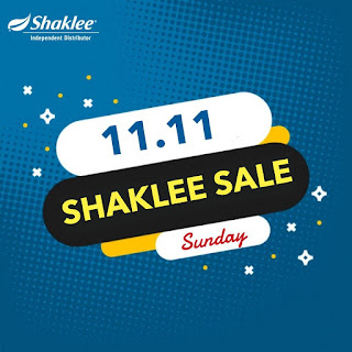 Promosi Shaklee 11.11.2018