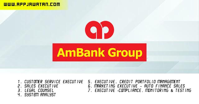 Jawatan Kosong di AmBank Group.