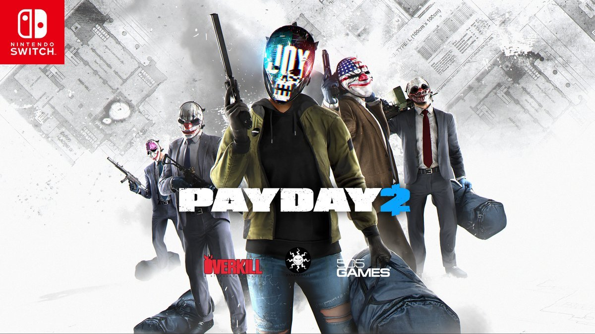 DESCARGAR/DOWNLOAD] Payday 2 SWITCH [ XCI] REGION FREE [ESP
