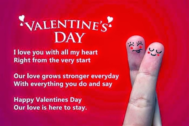 Valentine day SMS for girlfriend