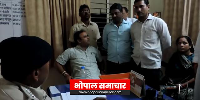 कांग्रेस प्रत्याशी अरुण यादव ने वोट के लिए नोट बांटे: भाजपा का आरोप | MP NEWS