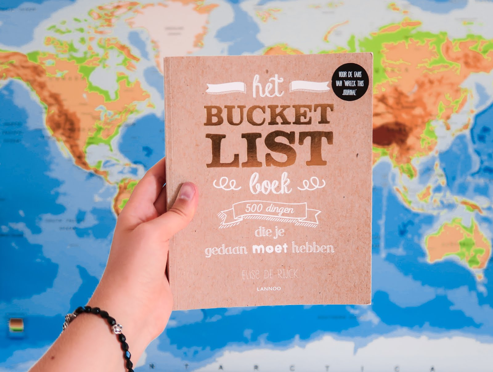 BUCKET LIST PROJECT | HET BUCKETLIST BOEK | ANNA TWENTY SEVEN