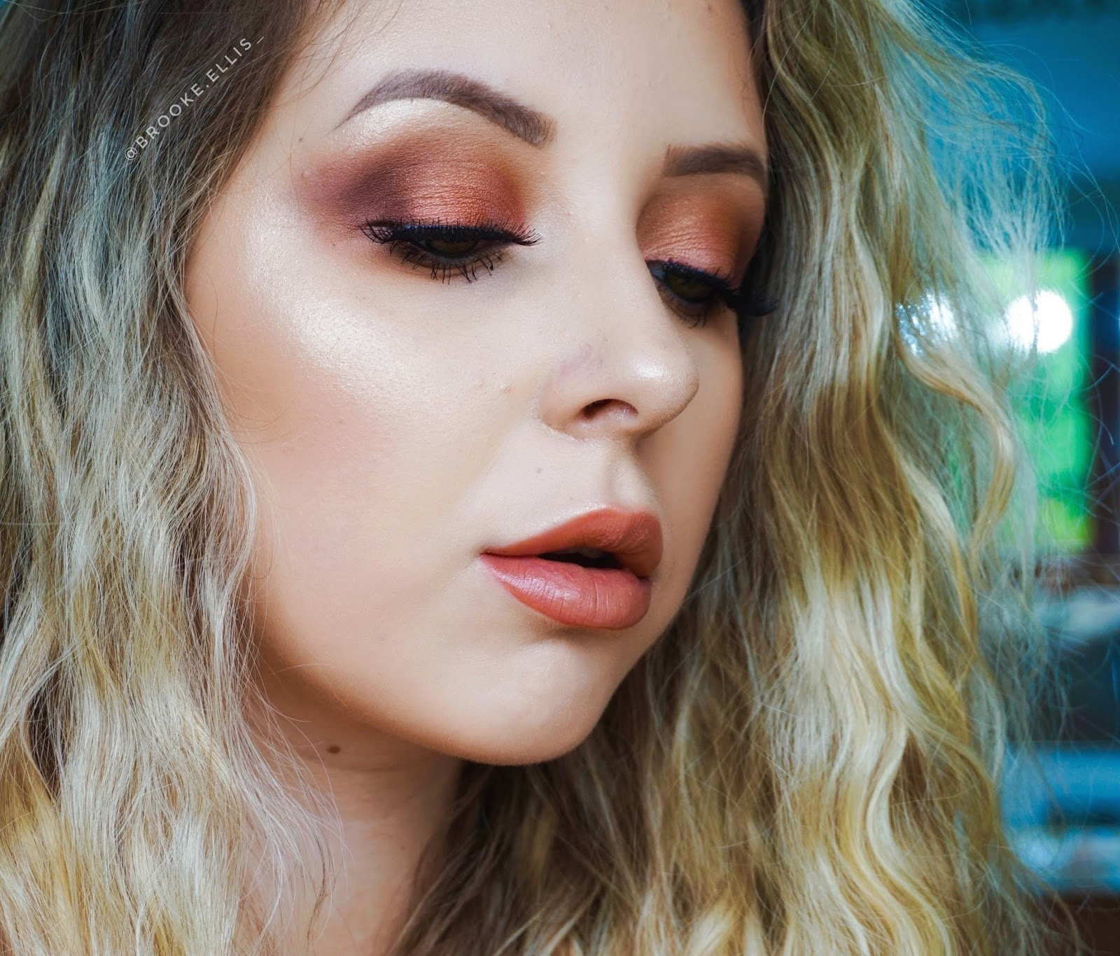 Day 28 🔥 Urban Decay Naked Heat Palette Makeup Tutorial