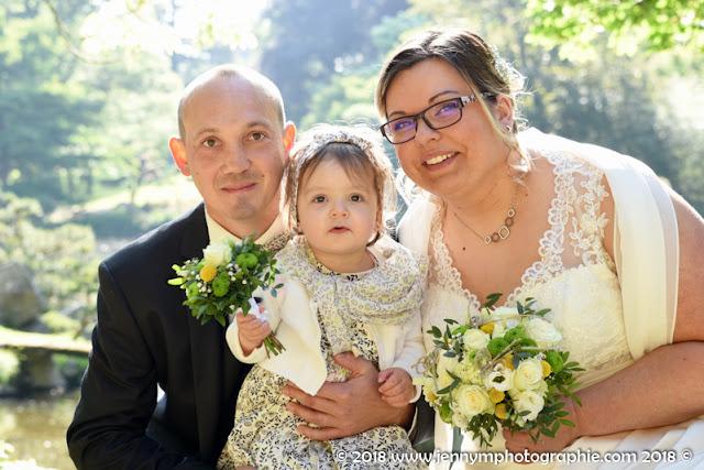 portraits mariés photo famille parents enfant