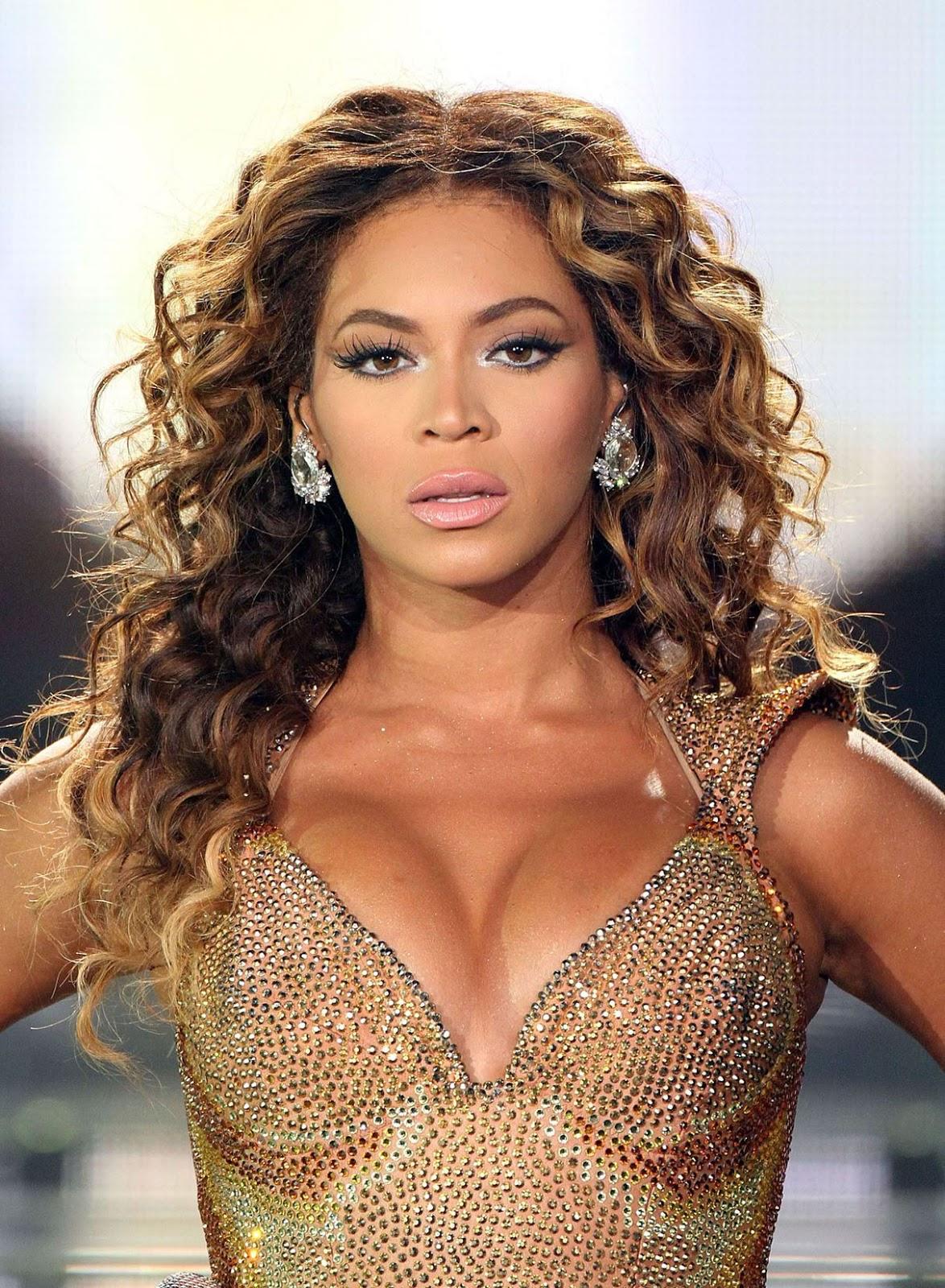 Beyonce Natural Face