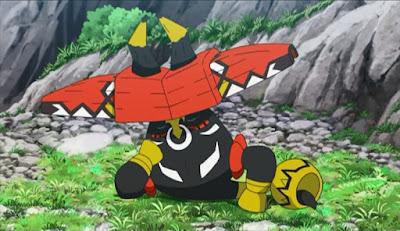 Pokemon Sol y Luna Capitulo 75 Temporada 20 Tapu Bulu, un ligero intenso entrenamiento
