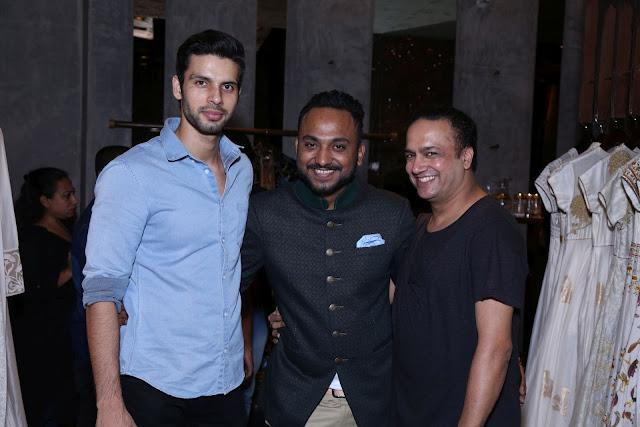(L-R) Gaurav Chaudhary, Nikhiel Kumar, Daman Choudharry