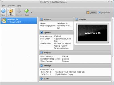 9 - Cara Install Windows 10 Di Virtualbox