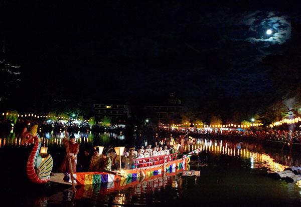 Uneme Matsuri, Uneme Jinja Shrine, Sarusawa, Nara