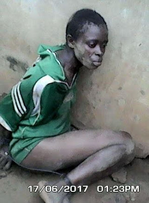 Female Kidnapper Caught In Agbele, Ikorodu, Lagos (See Photos)