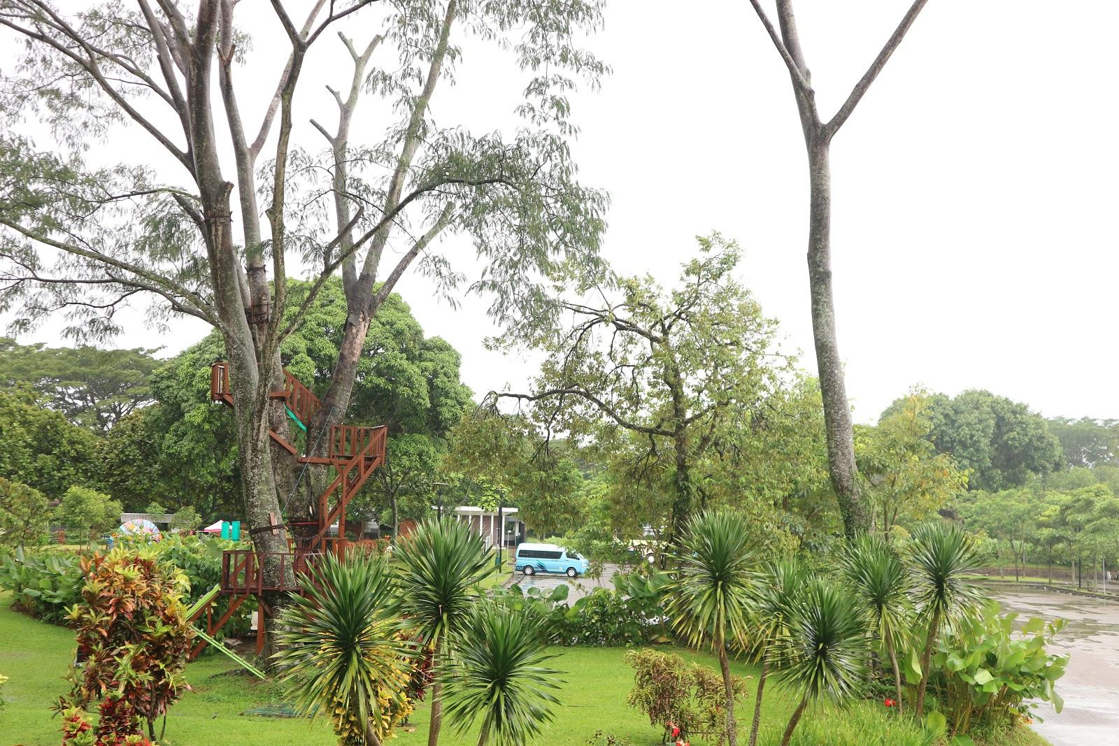 Staycation di Bogor di R Hotel Rancamaya yang sejuk dan asri