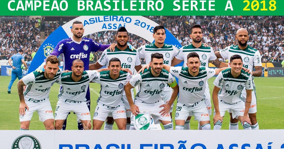 fb21d70d91 Edição dos Campeões  Palmeiras Campeão Brasileiro 2018