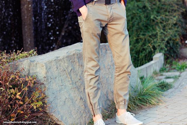 z czym zestawić spodnie jogger fit