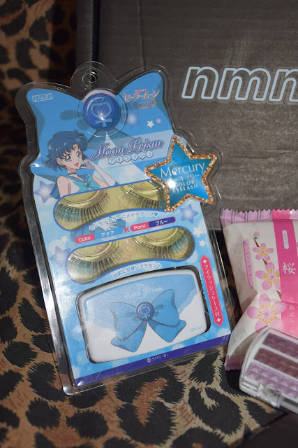 ciglia finte sailor moon giapponesi fake eyelashes NoMakeNoLife beauty box cosmetici giapponesi japanese beauty products mariafelicia magno beauty box blonde girls japanese make up make up giapponese