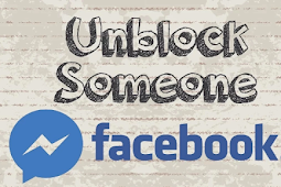 Unblocking Someone On Facebook