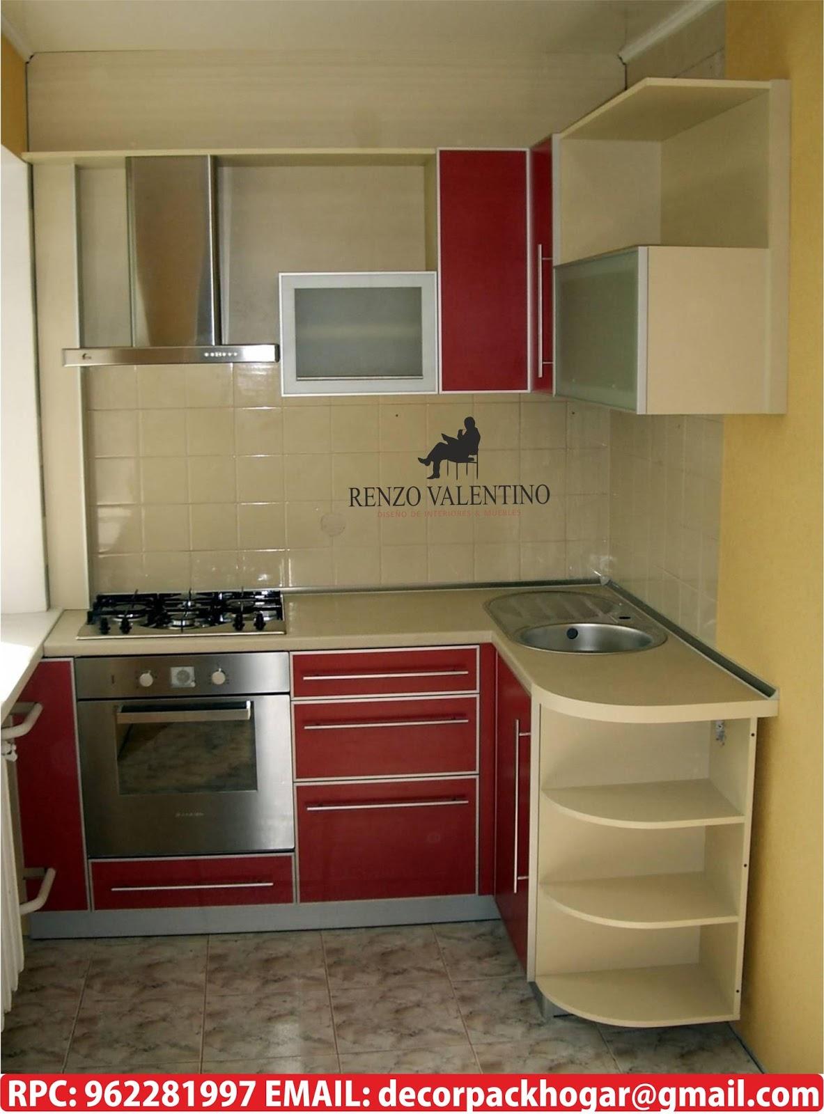 Dise os fabricacion de closet cocina y muebles de oficina for Cocinas modelos 2016