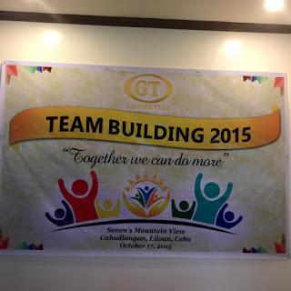 GT Cosmetics team building seminar in Liloan Cebu Philippines