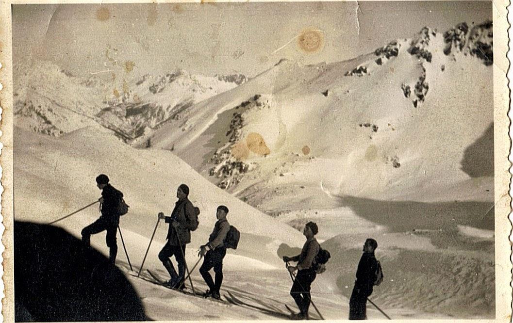 Ski à l'ancienne dans les Hautes-Alpes
