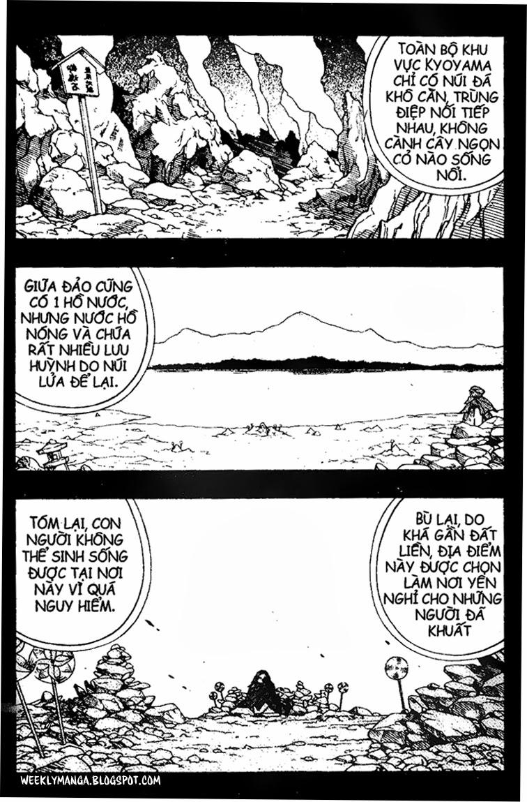 Shaman King [Vua pháp thuật] chap 164 trang 7